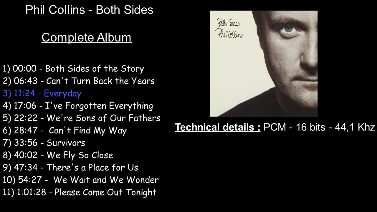 Download Phil Collins - Both Sides [Full Album]