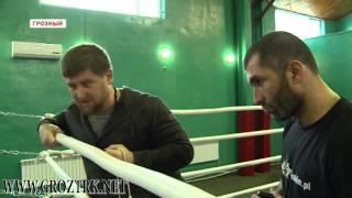 СОБР «Терек» проходит обучение по ударной технике
