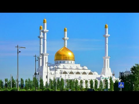 Nur Astana Mosque Kazakhstan Trip Street Scenes Travel Video Guide