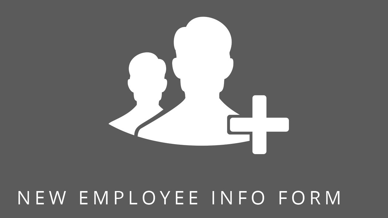 SharePoint Templates: New Employee Info Form - YouTube