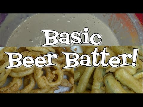 Basic Beer Batter Recipe ~Noreen's Kitchen Basics