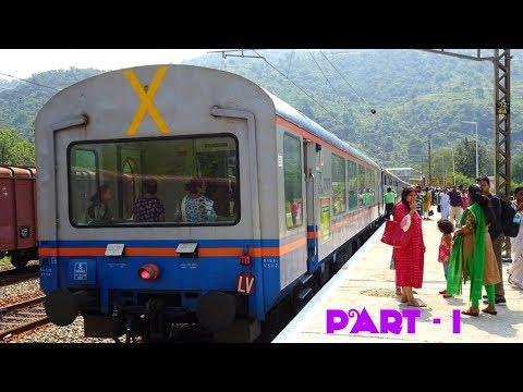 Vizag Araku VISTADOME Full Journey Compilation Part-I!! Vizag to Tyada on the Eastern Ghats!!