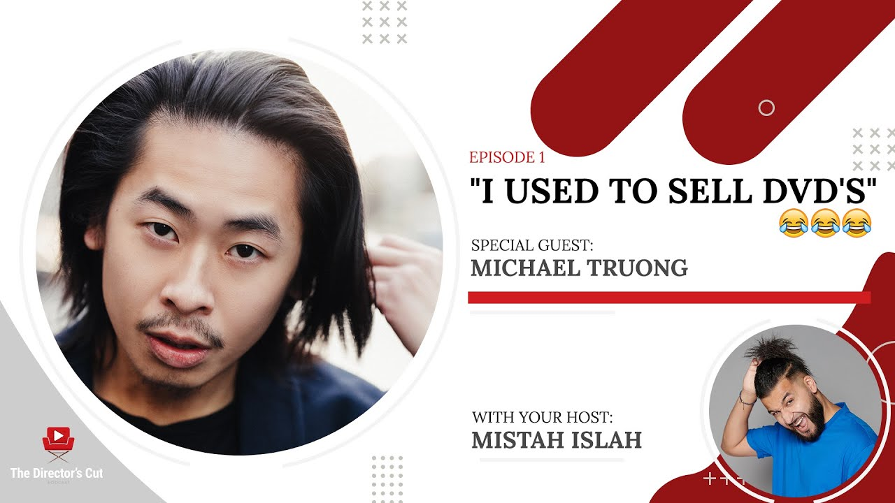 """""""I Used To Sell DVD's"""" - The Director's Cut Podcast Ep1 OUT NOW!"""