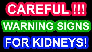 Early Signs of Kidney Failure You SHOULD Know!