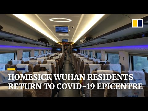 Wuhan residents return home to coronavirus epicentre in China