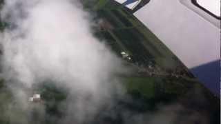 Amazing Scenes Plane Landing at Hamburg Germany Airport