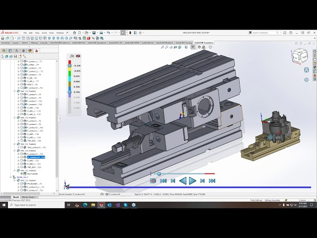 What's New in SolidCAM 2021 - NEW SolidCAM Simulator - February 11, 2021