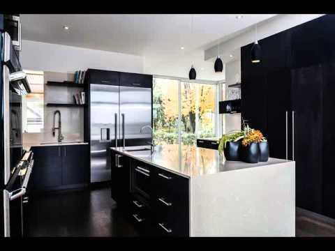 Desain Dapur Nuansa Hitam Putih Desain Interior Dapur Minimalis