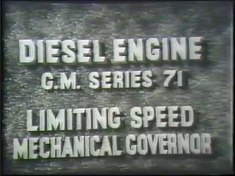Diesel Engine Limiting Speed Mechanical...