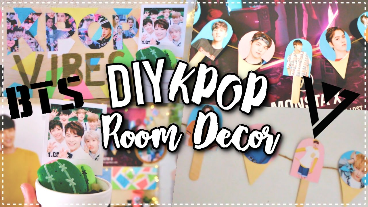DIY KPOP Room Decor Ideas! | KPOPAMOO - YouTube