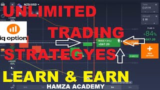 IQ  OPTION UNLIMITED TRADING STRATEGIES | MY BEST TRADING STRATEGY | IQ OPTION LIVE TRADING HINDI