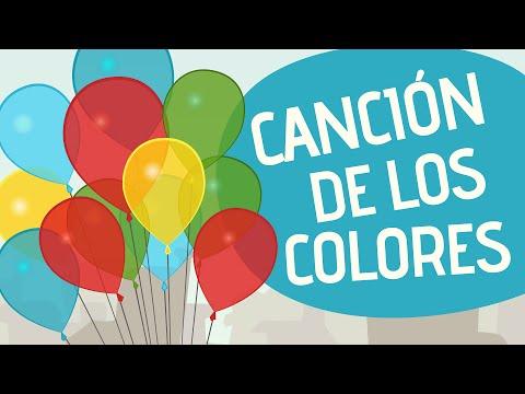 Canción de los colores - Canciones Infantiles - Toobys