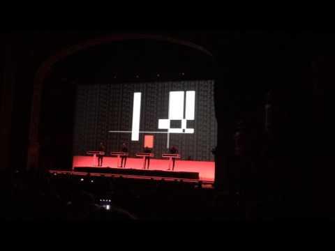 Kraftwerk Man Machine Gusman Theatre Miami 9/29/15