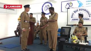 The event honored the best police officers in Jaffna