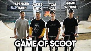 INTENSE GAME OF SCOOT   Spencer Smith VS Jake B Smith VS Tom Holt VS Jamie Wilding
