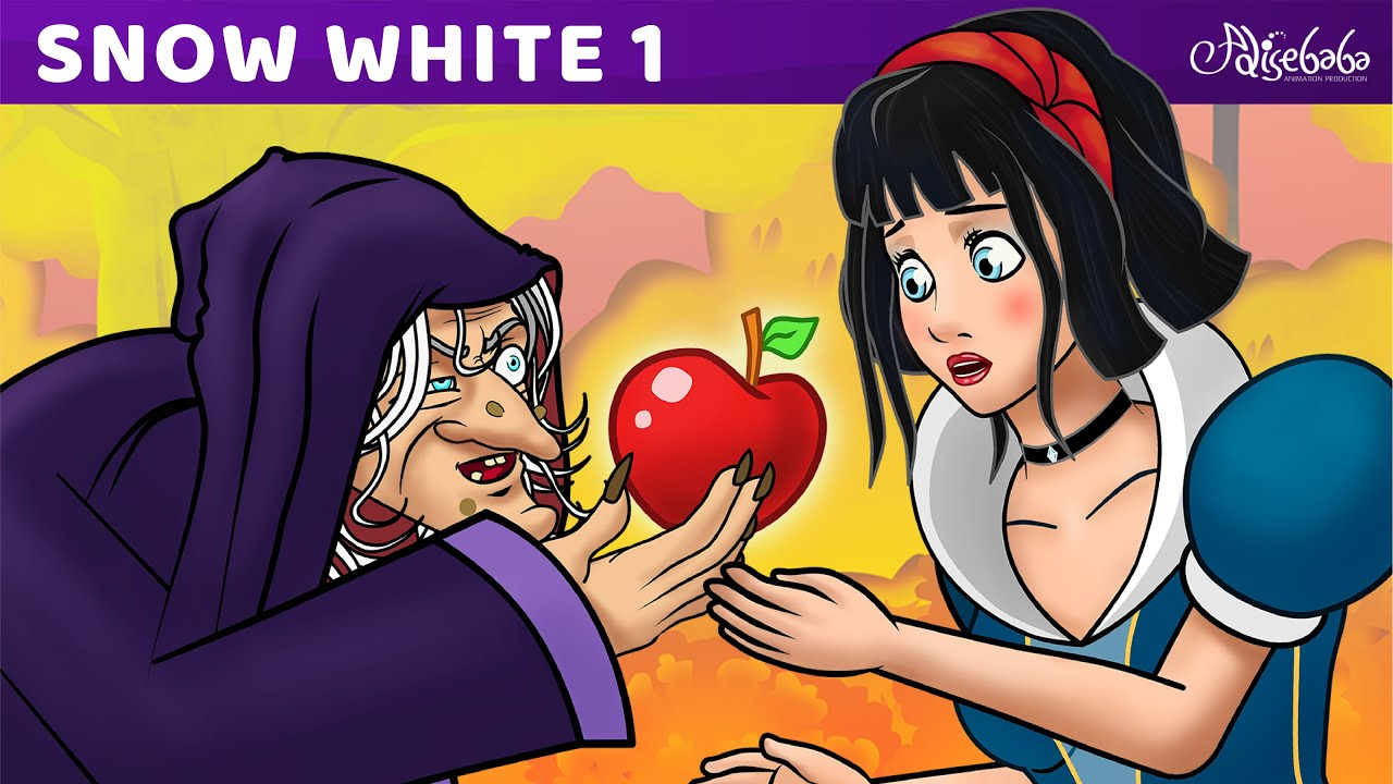 Download Snow White Series Episode 1 of 13 : The Seven Dwarfs   Bedtime Stories For Kids in English