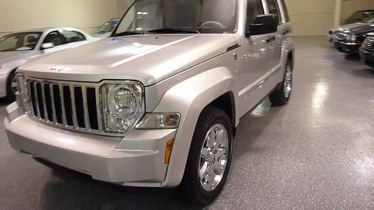 2008 jeep liberty limited edition sport utility 4d