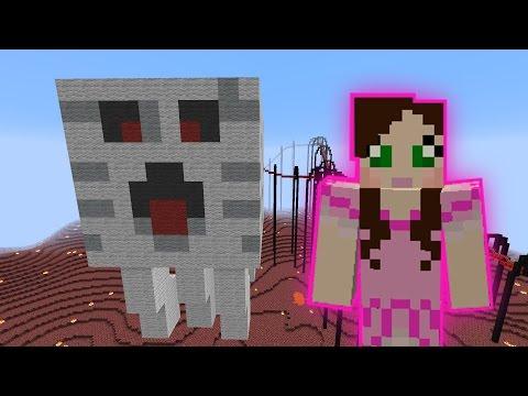 Minecraft: DIMENSION ROLLERCOASTER (ADVENTURE THROUGH UNIVERSES!) Custom Map
