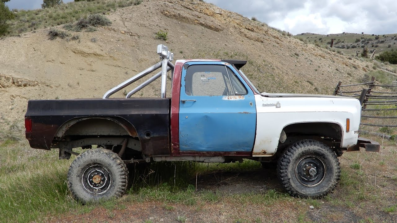 Project Rock Crawler Mudder Truck for Sale ~ K20 4x4 Chevy Pickup ...