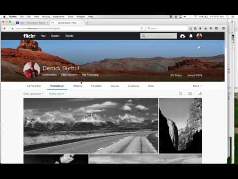 Flickr Tutorial 2017