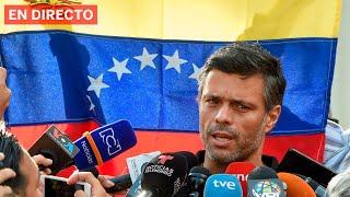 DIRECTO | Llegada del líder OPOSITOR VENEZOLANO LEOPOLDO LÓPEZ a Madrid