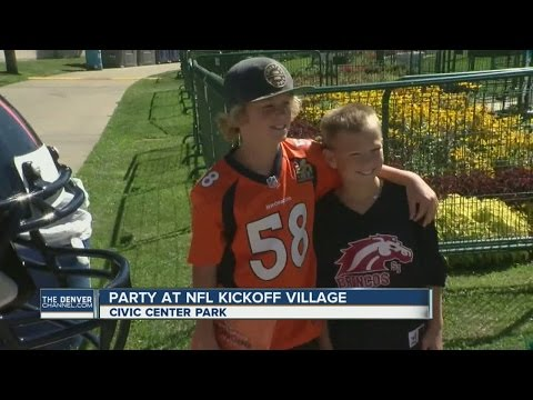 Party at NFL Kickoff Village