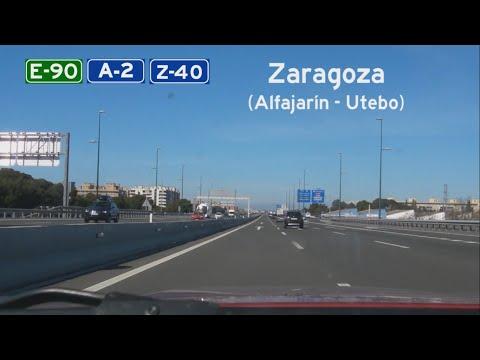 [E] A-2/Z-40 Zaragoza (Alfajarín - Utebo)