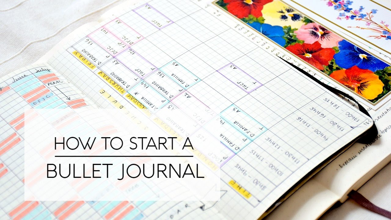 Megarainbowdash2000 S Journal: Tips On How To Start A Bullet Journal