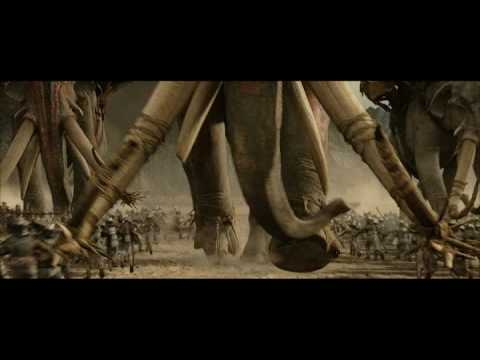 The lord of the rings - Oliphaunt in Pelennor Fields