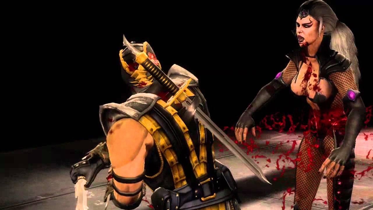 mortal kombat 9 komplete edition scorpion fatality 1 split