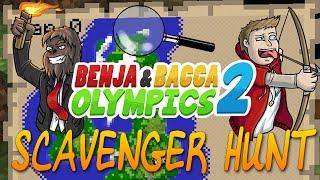 Minecraft Benja & Bacca Olympics S2 - HARDCORE POINT CHALLENGE - WARHEAD CHALLENGE (Challenge #4)