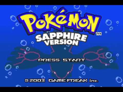 Game Boy Advance Longplay [187] Pokemon Sapphire (Part 1 of 3)
