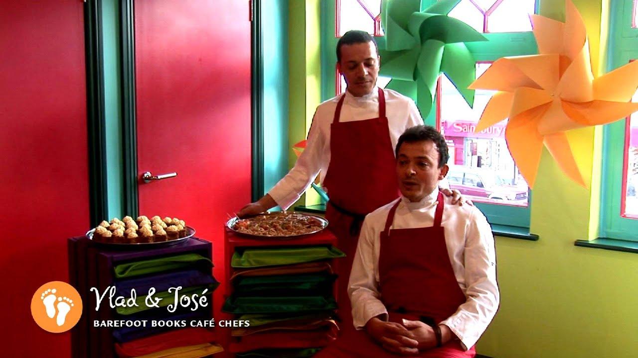 Meet Vlad & Jos Barefoot Books Caf Chefs