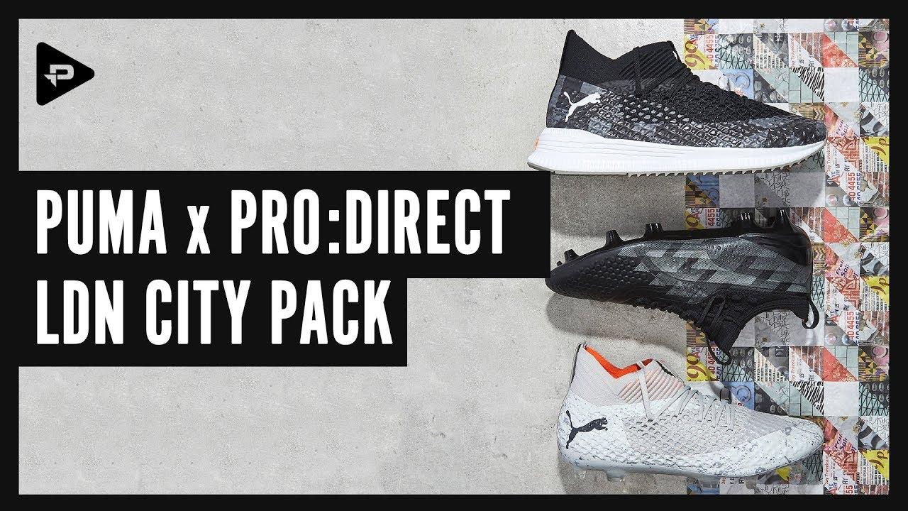 PUMA x PRO:DIRECT LDN CITY PACK UNBOXING & CLOSER LOOK NYE FREMTID EN FOTBALLSTOFFER  NEW FUTURE ONE FOOTBALL BOOTS