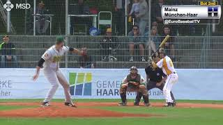 Baseball Highlights: Mainz Athletics vs. Haar Disciples (2 Games)