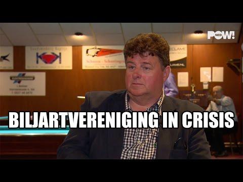 Biljartvereniging in crisis