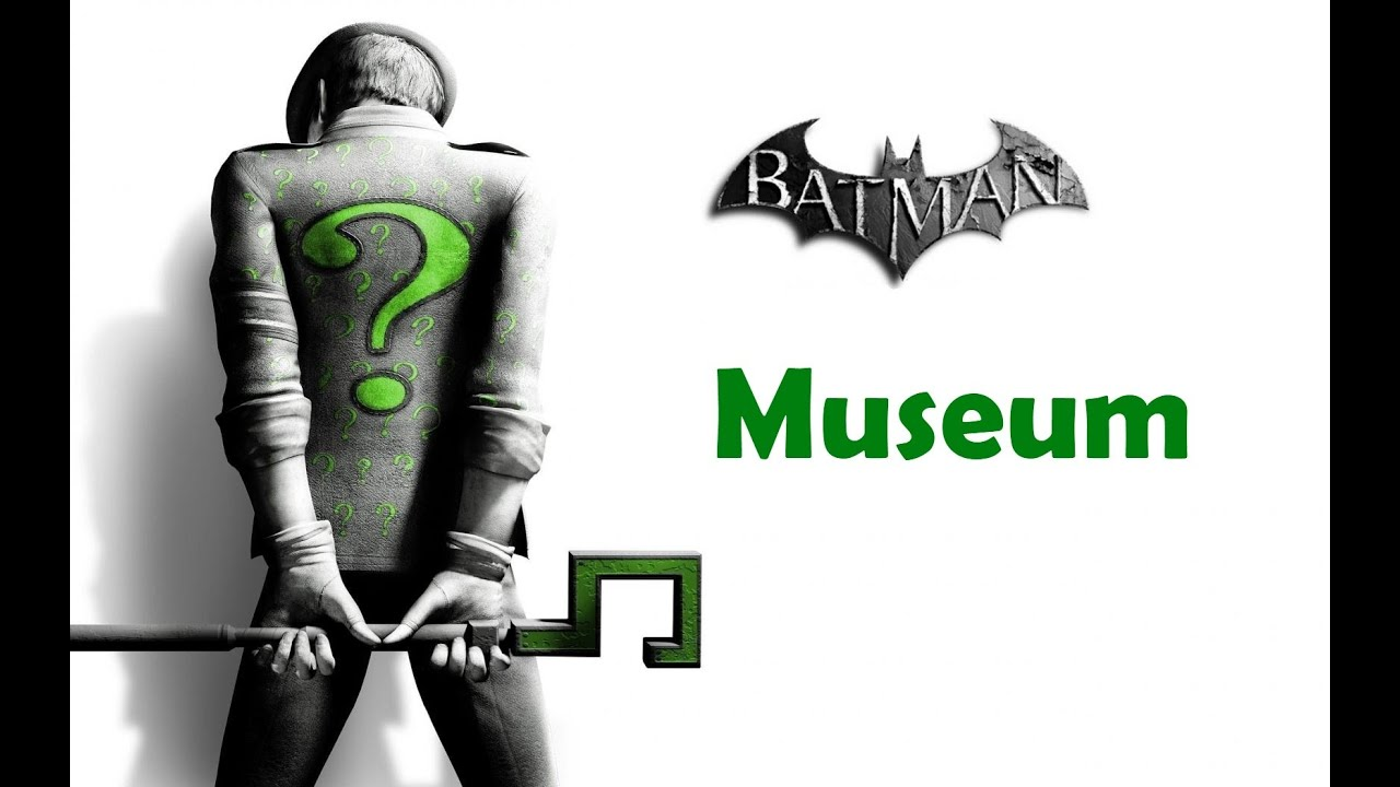 arkham city how to solve riddles