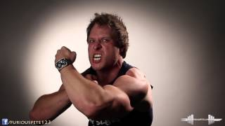 Crazy Flexing Muscle Biceps