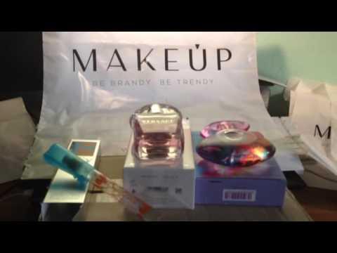 Мои пустые MakeUp баночки - летний парфюм Salvador Dali, Versace, Salvatore Ferragamo
