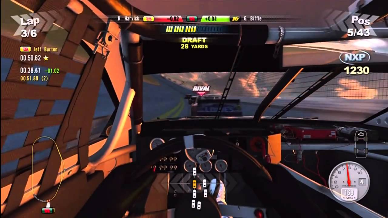 Nascar Games For Xbox 1 : Nascar the game gameplay xbox hd youtube
