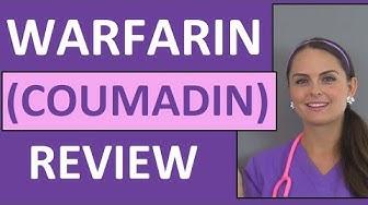 Warfarin (Coumadin) Anticoagulant Nursing NCLEX Review Pharmacology