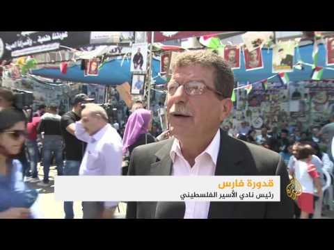 مواجهات وإضراب شامل بالأراضي الفلسطينية دعما للأسرى  - 16:21-2017 / 5 / 22