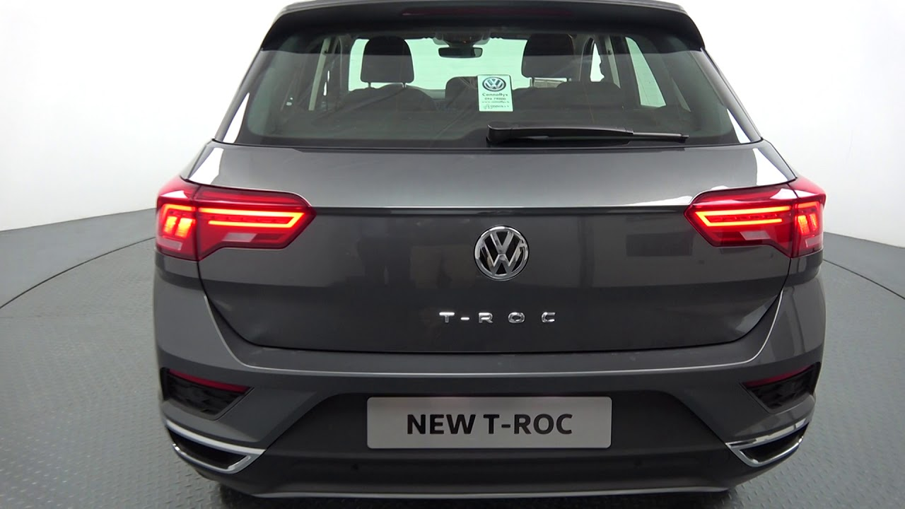Vw Motability >> CMG VW BALLINA: NEW VW T-ROC 1.0TSI Design 115BHP - YouTube