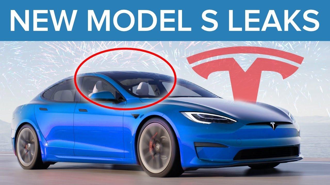 NEW Tesla Model S Leaked