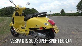SLUK | Vespa GTS 300 Euro 4 quick spin - tracker coming???