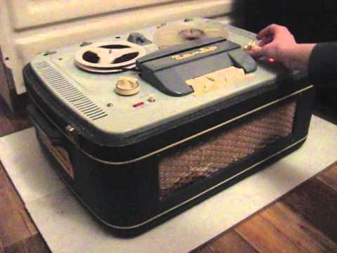 "Анонс: Катушечный магнитофон """