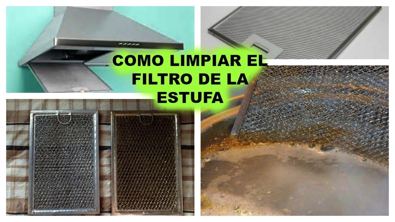 Como limpiar el filtro de tu campana extractora youtube - Limpiar campana extractora ...