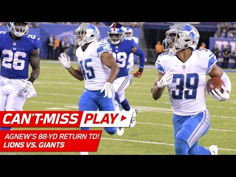 Jamal Agnew's Sick Madden JUKE on Punt Return TD 🎮 | Can't-Miss Play | NFL Wk 2 Highlights
