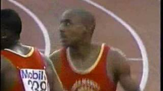 Michael Johnson 200m 19.79 - 1992 New Orleans Olympic Trials