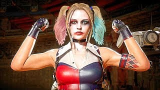 MK11 Harley Quinn Performs All Victory Celebrations (Cassie Quinn Skin)